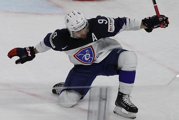 France v Austria - 2018 IIHF Ice Hockey World Championship Photograph by Xavier Laine