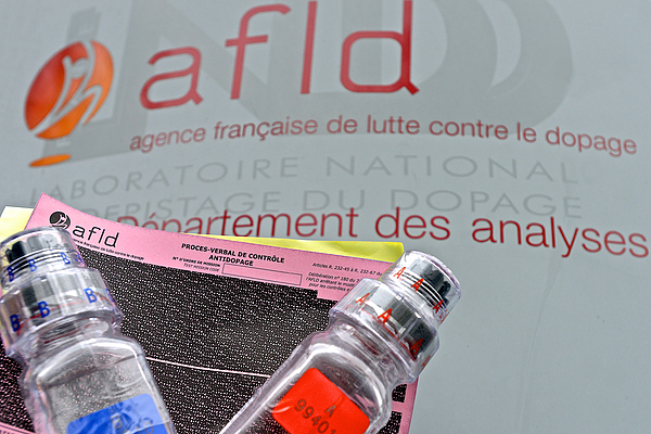 French Anti-Doping Agency Tests National Athletes To Reinforce The Fight Against Doping In Sport Photograph by Frederic Stevens