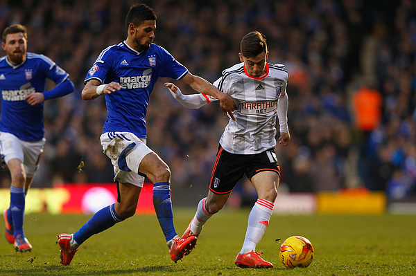 Fulham v Ipswich Town - Sky Bet Championship Photograph by Harry Engels