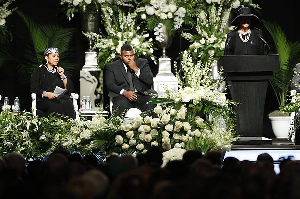 Funeral Held For Boxing Legend Muhammad Ali In His Hometown Of Louisville, Kentucky Photograph by Aaron P. Bernstein