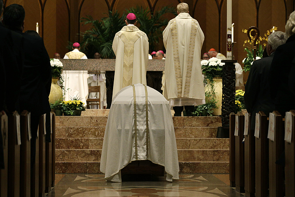 Funeral Mass Held For Francis Cardinal George In Chicago Photograph by Pool