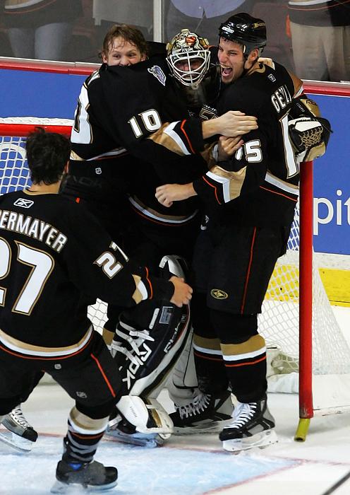 Game 5 - Ottawa Senators v Anaheim Ducks Photograph by Jeff Gross