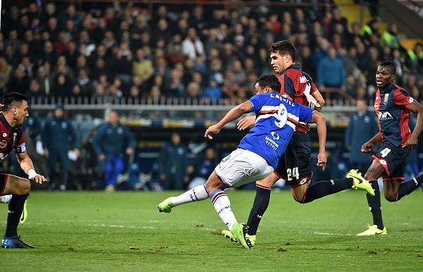 Genoa CFC v UC Sampdoria - Serie A Photograph by Paolo Rattini