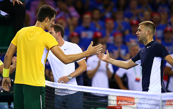 Great Britain v Australia Davis Cup Semi Final 2015 - Day 1 Photograph by Jordan Mansfield