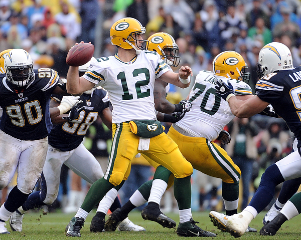 Green Bay Packers v San Diego Chargers Photograph by Harry How
