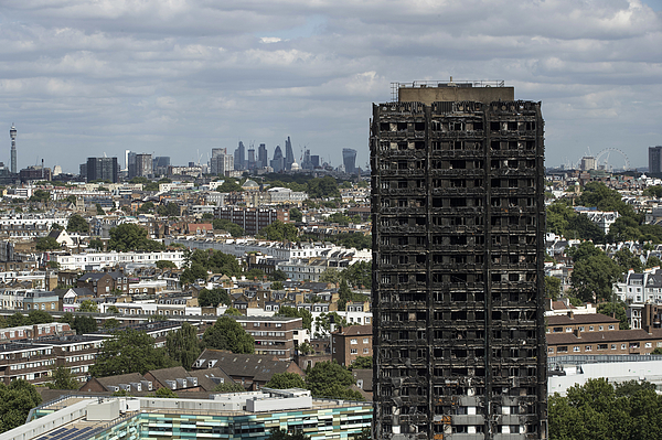 Grenfell Tower Fire - One Month On Photograph by Dan Kitwood