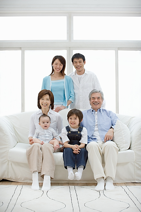 Happy family Photograph by Image Source