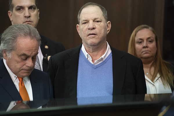 Harvey Weinstein Turns Himself In After Sex Assault Investigation In NYC Photograph by Pool