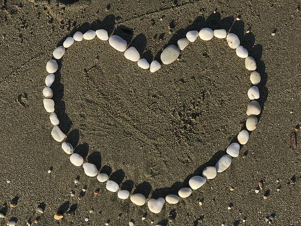 Heart In Sand Photograph by Jasmin Merdan