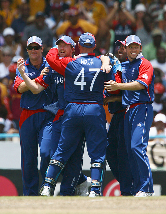 ICC Cricket World Cup Super Eights - West Indies v England Photograph by Clive Mason