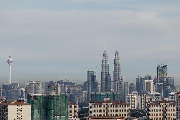 Kuala Lumpur Skyline Photograph by Shaifulzamri