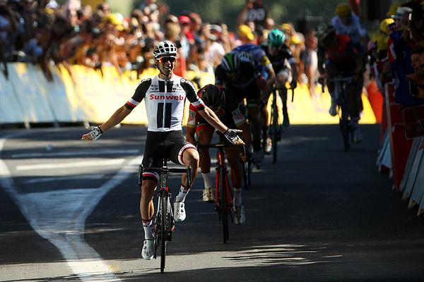 Le Tour de France 2017 - Stage Fourteen Photograph by Chris Graythen