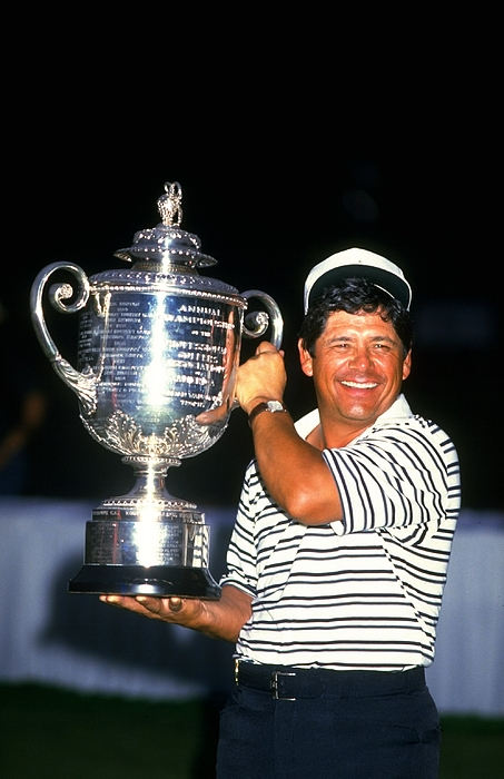 Lee Trevino Photograph by David Cannon
