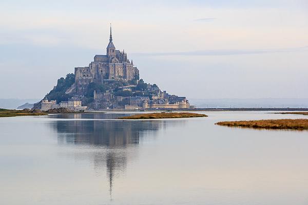 Mont Saint-Michel (France) Photograph by Frans Sellies