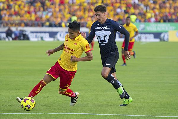 Morelia V Pumas Unam - Torneo Clausura 2017 Liga Mx Photograph by Jam Media