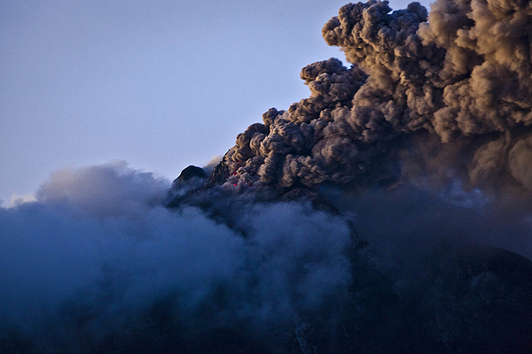 Mount Sinabung Eruptions Intensify Photograph by Ulet Ifansasti