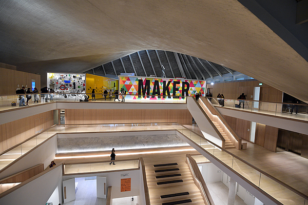 New Design Museum Opens In Kensington Photograph by Carl Court
