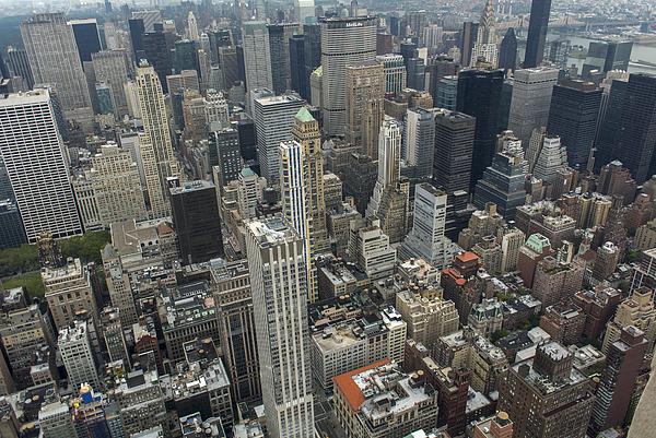 New York City Aerial Views Photograph by Tom Craig