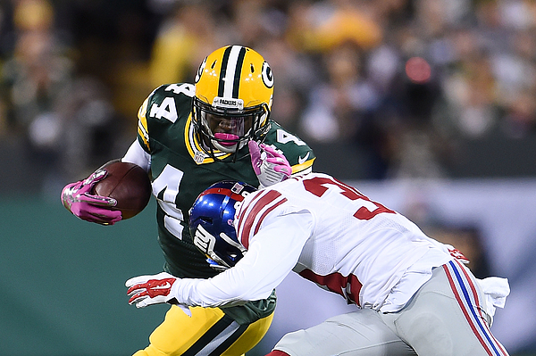 New York Giants v Green Bay Packers Photograph by Stacy Revere