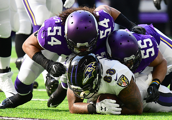 NFL: OCT 22 Ravens at Vikings Photograph by Icon Sportswire