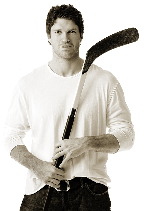 NHL All-Star Stylized Portrait Shoot Photograph by Jennifer Pottheiser