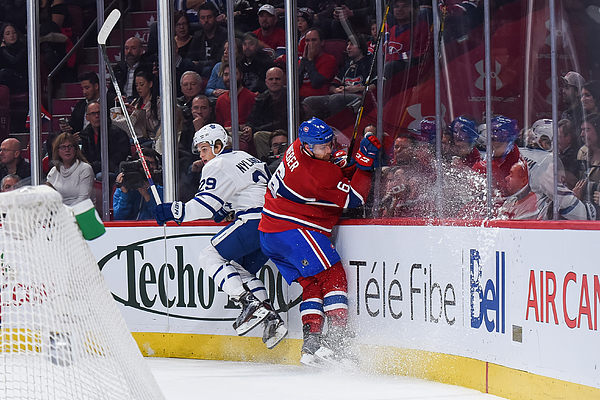 NHL: NOV 19 Maple Leafs at Canadiens Photograph by Icon Sportswire