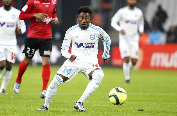 Olympique de Marseille v EA Guingamp - Ligue 1 Photograph by Jean Catuffe