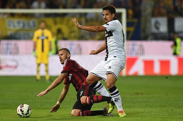 Parma FC v AC Milan - Serie A Photograph by Valerio Pennicino