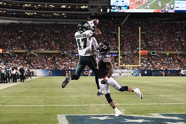 Philadelphia Eagles v Chicago Bears Photograph by Stacy Revere