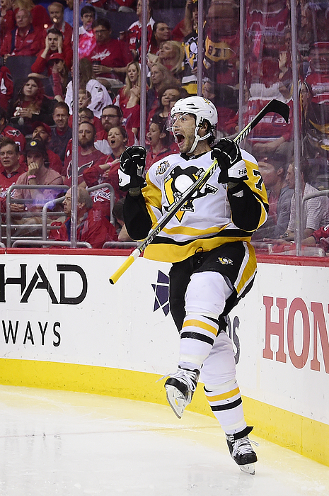 Pittsburgh Penguins V Washington Capitals - Game Two Photograph by Patrick McDermott