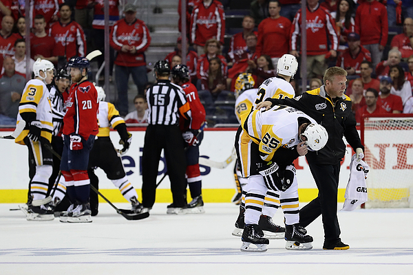 Pittsburgh Penguins V Washington Capitals - Game Two Photograph by Rob Carr