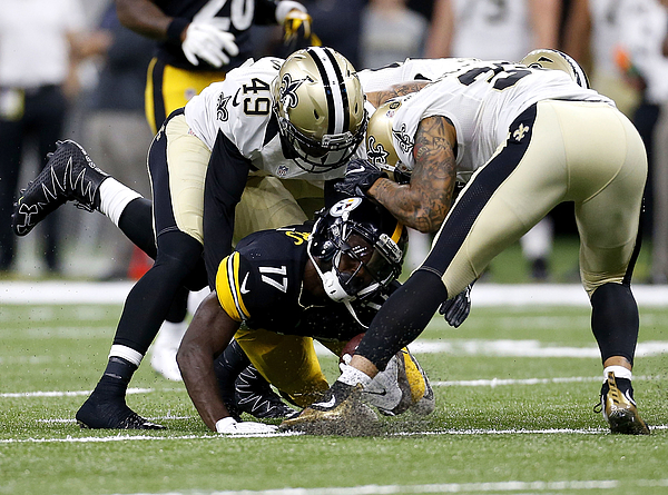 Pittsburgh Steelers v New Orleans Saints Photograph by Jonathan Bachman