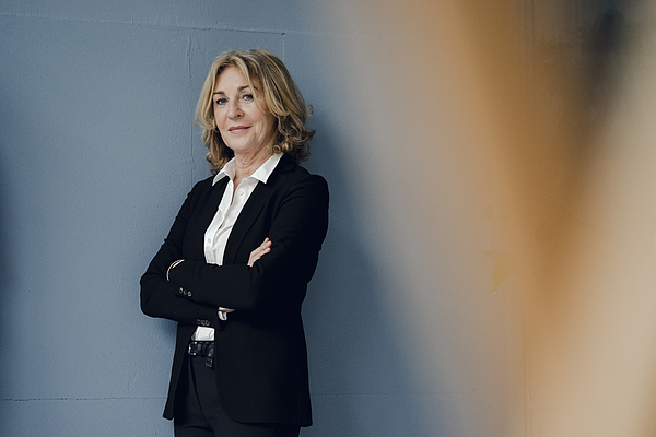 Portrait of confident senior businesswoman Photograph by Westend61
