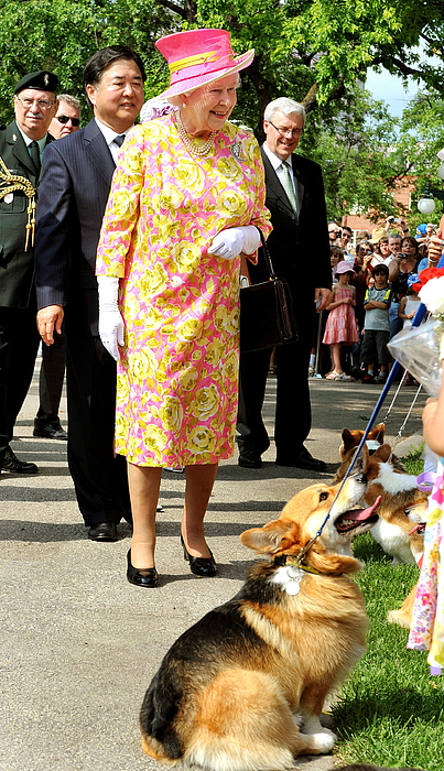 Queen Elizabeth II Visits Canada - Day 6 Photograph by WPA Pool