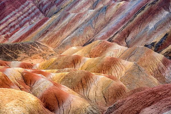 Rainbow mountains Photograph by © Razvan Ciuca