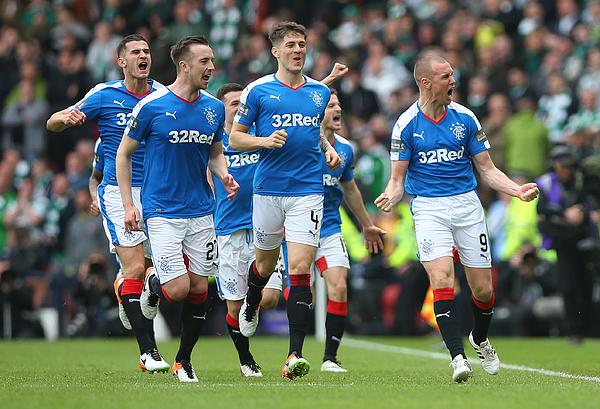Rangers v Celtic - William Hill Scottish Cup Semi Final Photograph by Ian MacNicol