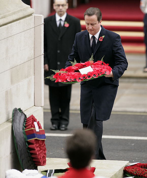 Remembrance Sunday Service Held At The Cenotaph Photograph by Max Mumby/Indigo
