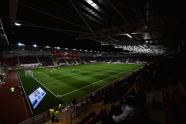 Rotherham United v Fulham - Sky Bet Championship Photograph by Laurence Griffiths
