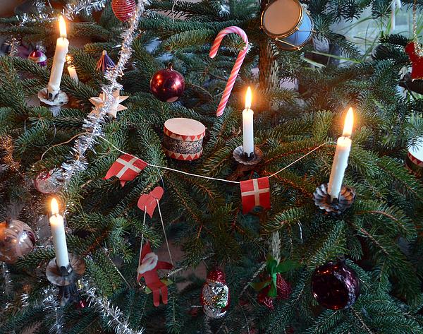 Scandinavian style Christmas tree Photograph by Nemoris