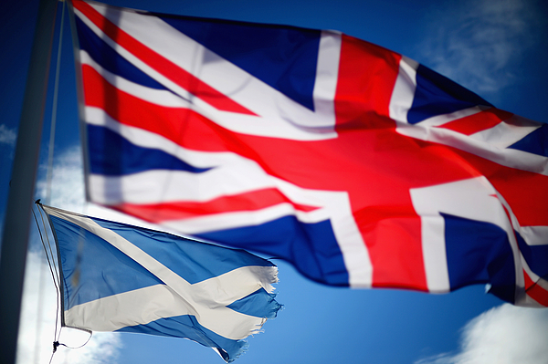 Scotland Prepares For The Independence Vote Photograph by Jeff J Mitchell