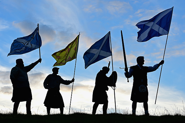 Scottish Referendum Campaigning Enters The Final Stages Photograph by Jeff J Mitchell