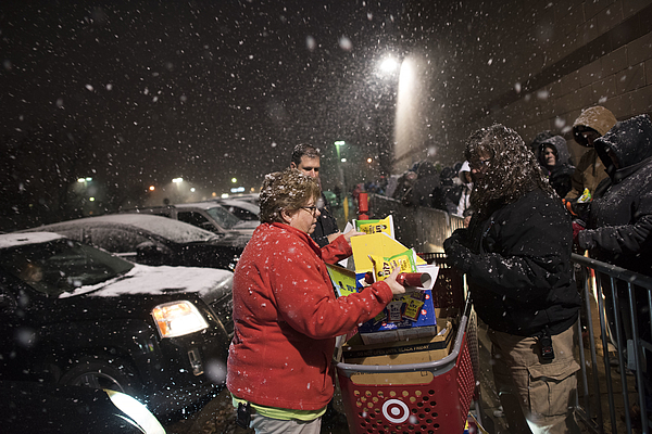 Shoppers Inside A Target Corp. Store Ahead Of Black Friday Sales Photograph by Bloomberg