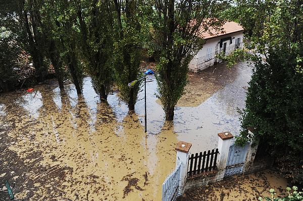 Six Dead In Storm Floods In Central Italy Photograph by Laura Lezza