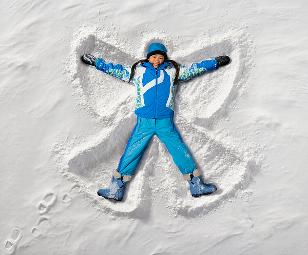 Snow Angel Photograph by Nycshooter