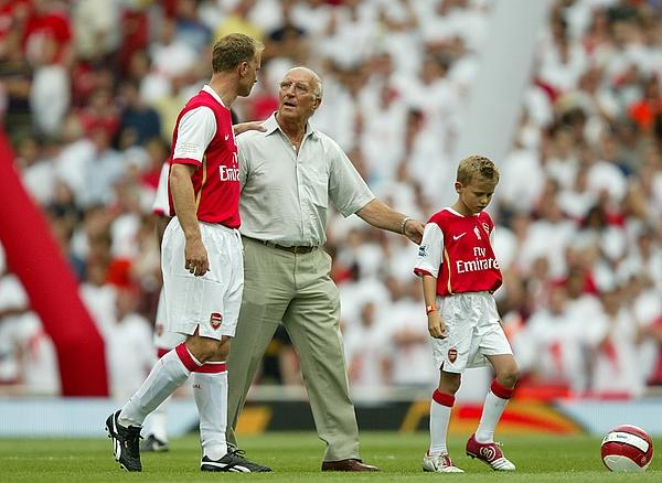 Soccer - Dennis Bergkamp Testimonial - Arsenal v Ajax - Emirates Stadium Photograph by Mike Egerton - EMPICS