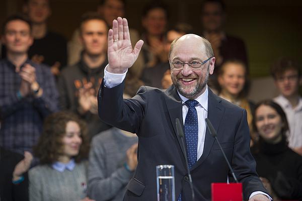 Social Democrats Leadership Nominates Martin Schulz As Chancellor Candidate Photograph by Steffi Loos