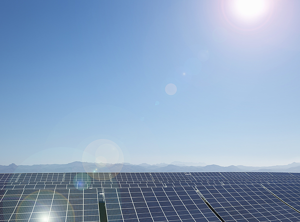 Solar farm, Andalusia, Spain Photograph by Tacit