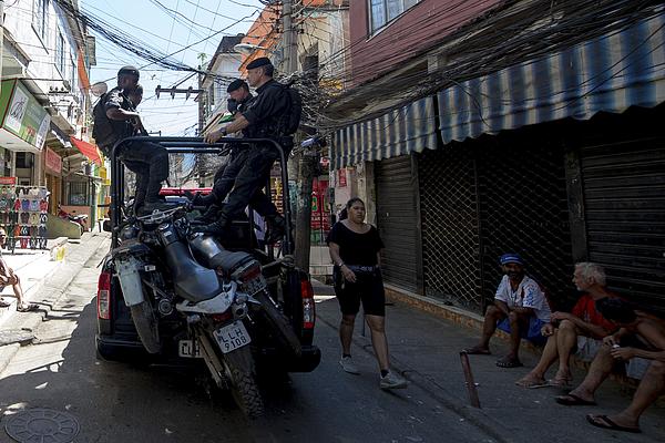 Special Police Operations Battalion Occupy Jacarezinho Slum Photograph by Buda Mendes