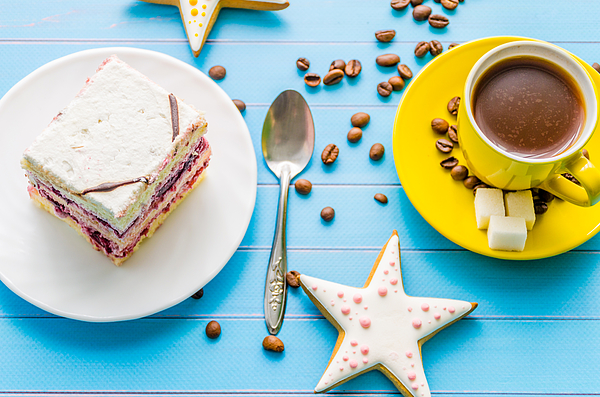 Still Life With Sweets And Coffee Photograph by Yuriy Semak / FOAP