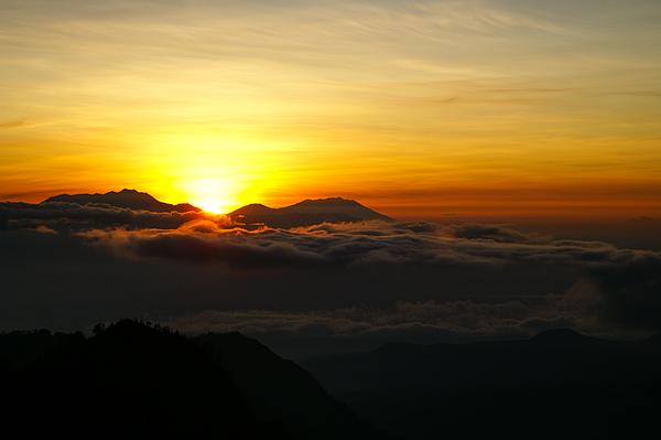 Sunrise At Cemoro Lawang Photograph by Shaifulzamri
